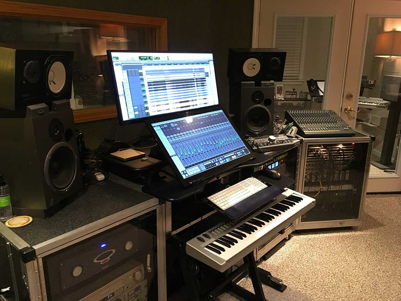 Palette Studio Control Room