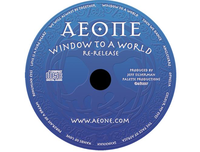 Aeone - Window To A World - CD