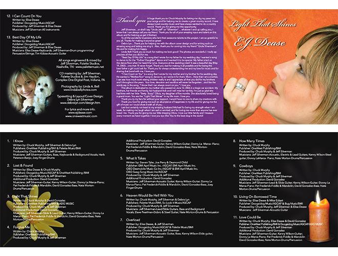 EJ Dease - 6 panel booklet