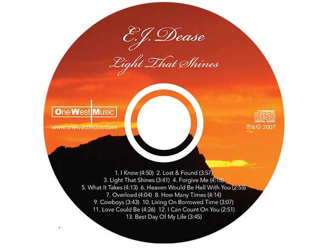 EJ Dease - CD
