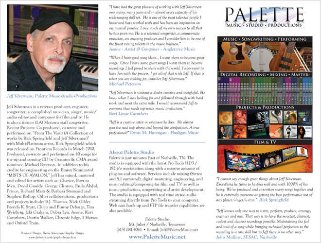 Palette MSP Brochure Front