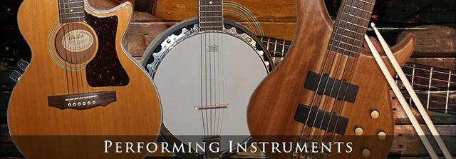 Jeff Silverman Performing Instruments