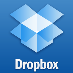 upload media to Dropbox...