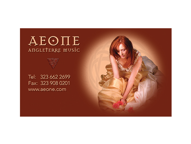 Aeone Business Card
